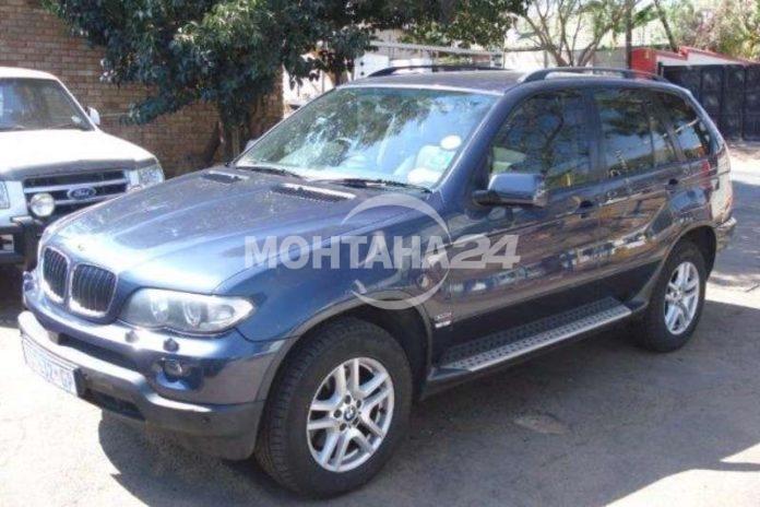 НАП Монтана продава джип BMW