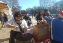 200 монтанчани хапнаха безплатно боб-чорба