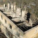 Изгорелия блок в Бойчиновци