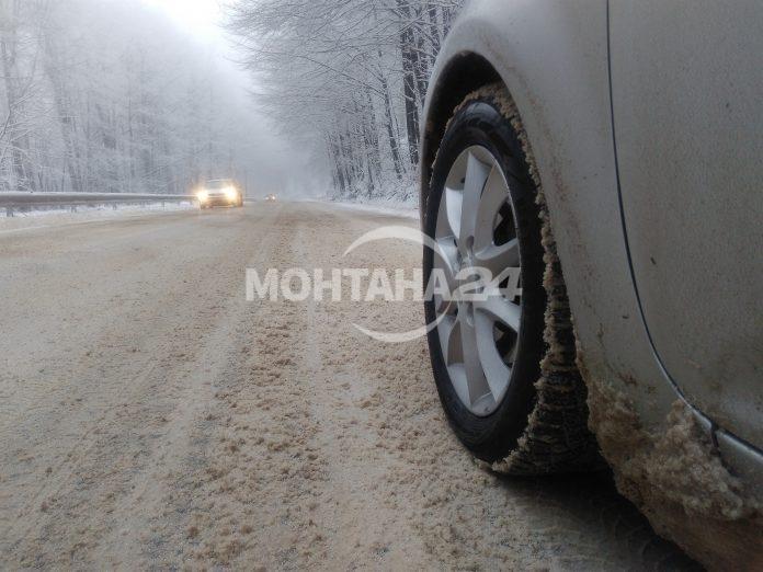 Затвориха пътя Видин-Монтана за тежкотоварни автомобили