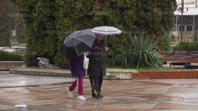 Интензивни валежи през последните 10 дни на ноември в региона