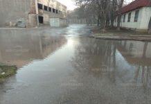 Наводнение в Лом