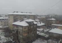 Сняг и облаци в понеделник