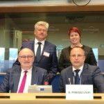 Депутатът Ирена Димова на визита в Брюксел