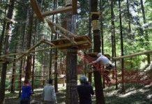 Въжен парк вече ще радва децата и гостите на Вършец (СНИМКИ)