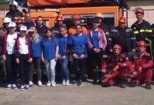 Отборът на Първо училище е победител в състезанието за защита при бедствия и аварии
