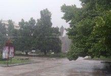 Вижте колко дъжд валя снощи в Монтана и региона