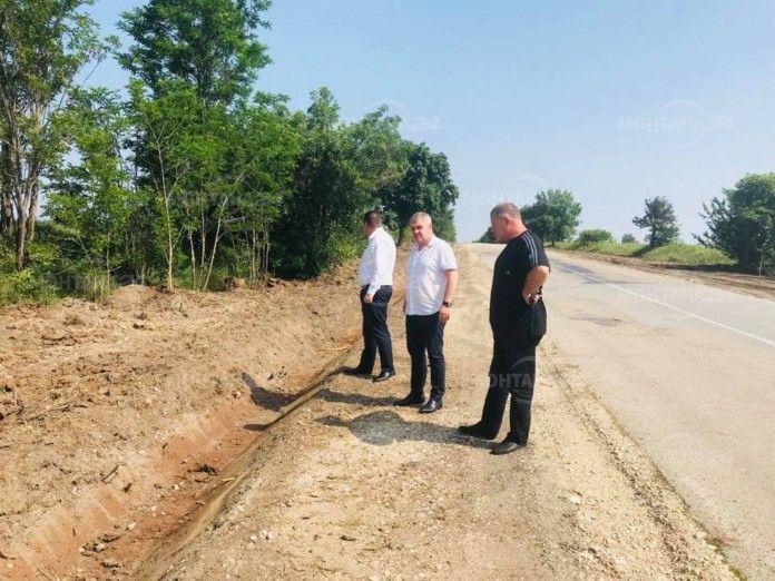 Инспектираха пътя Монтана - Дъбова махала