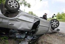 Румънци катастрофираха край Винище