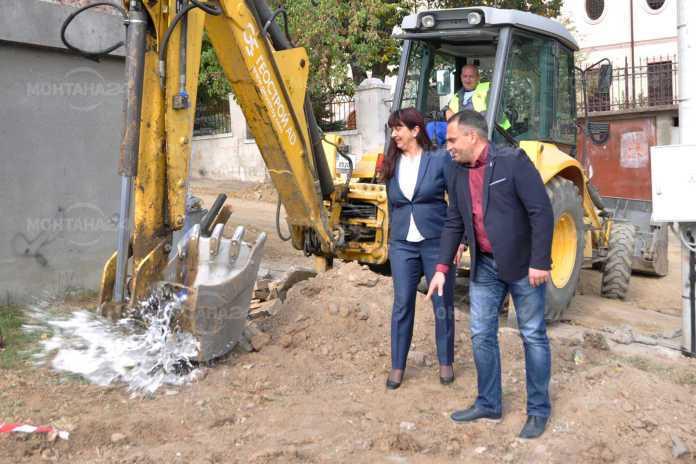 Стартира ремонтът на 13 улици и градската градинка в Лом