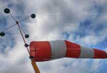 Код жълто за силен вятър над региона