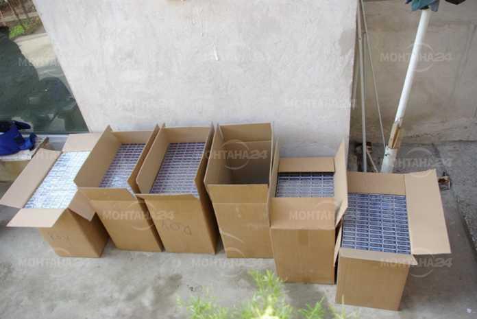Спипаха жена с близо 3000 кутии цигари без бандерол