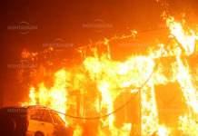 Запалиха къща обитавана от кубинец във Вълчедръмиспанец във Вълчедръм