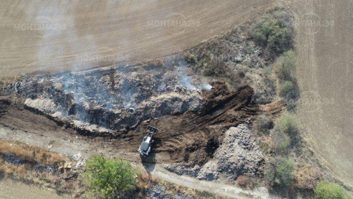 Запалено торище обгазява Монтана вече няколко дни