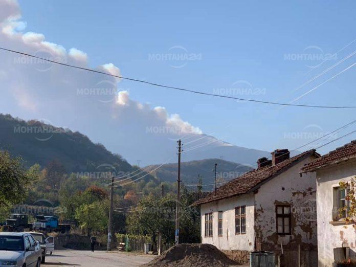Пожарът над Чипровци е локализиран