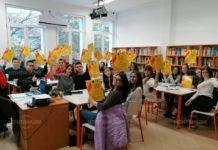 """Езиковата гимназия стана домакин на """"Иновации в действие"""""""