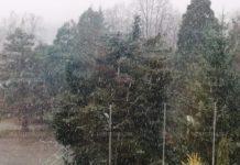 Първи сняг в Берковица