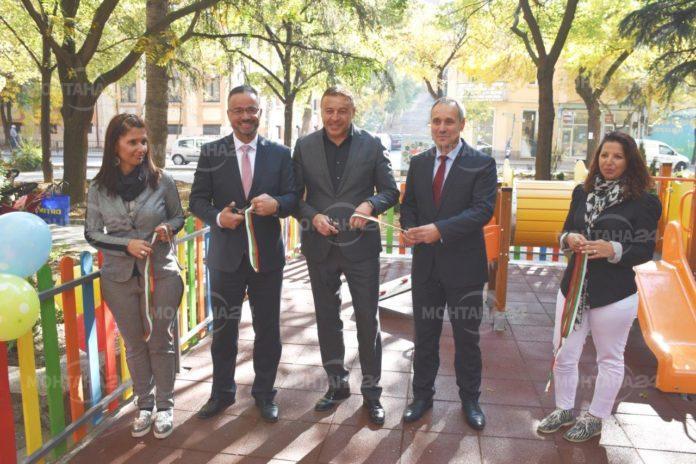 ЧЕЗ Електро подпомогна изграждането на детска площадка в Благоевград
