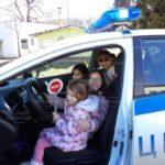 Полицаи и първокласници се срещнаха в Берковица