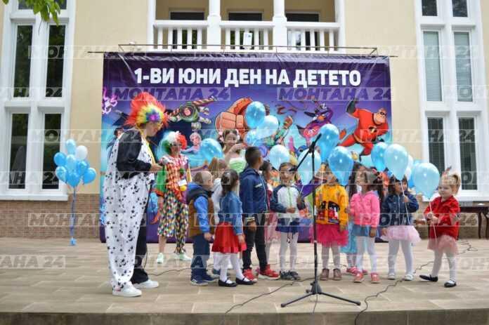 Децата на Вършец отпразнуваха 1 юни със забавно детско шоу